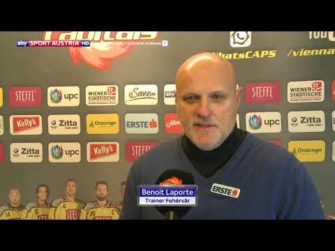 Erste Bank Eishockey Liga 17/18. 19. Runde: Vienna Capitals - Fehervar AV 19 0:1