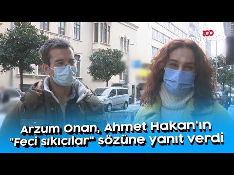 Arzum Onan, Ahmet Hakan'ın \
