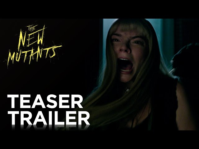 Impresionante tráiler de The New Mutants, la intensa precuela de X-Men