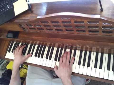 tutorial: how to play These Four Words by The Maine & right hand sheet music,