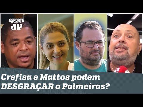 """""""Um dia a CONTA CHEGA!"""" Crefisa e Mattos ainda podem DESGRAÇAR o Palmeiras?"""