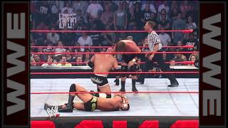 Goldberg vs. Evolution - Handicap Match: Raw, Nov. 17, 2003