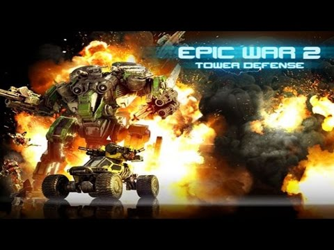 Epic War TD 2 (by AMT Games Inc.) iOS/Andriod Trailer HD Gameplay