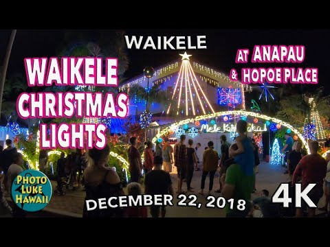 Waikele Christmas Lights 12/22/2018