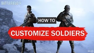 المعركة 5 كيفية تخصيص الخاص بك الجنود