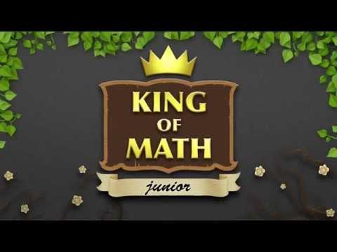 King of Math Junior - matematik app