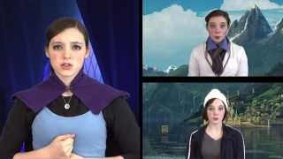 Repeat youtube video Isabel Descutner - One-Woman A Cappella Disney's Frozen Medley