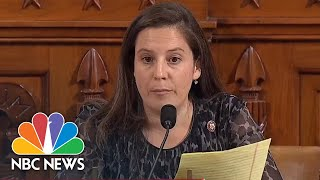 Representative Elise Stefanik Questions Tim Morrison And Kurt Volker In Rapid Fire Round | NBC News
