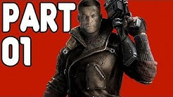Let's Play Wolfenstein The New Order PS4 Gameplay German Deutsch Part 1 - Alles nur ein Traum?