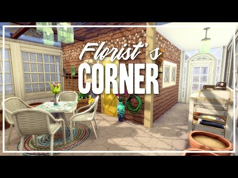 Florist's Corner - The Sims 4 Speed Build