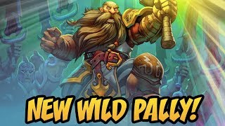 New Wild Pally! | Rise Of Shadows | Hearthstone