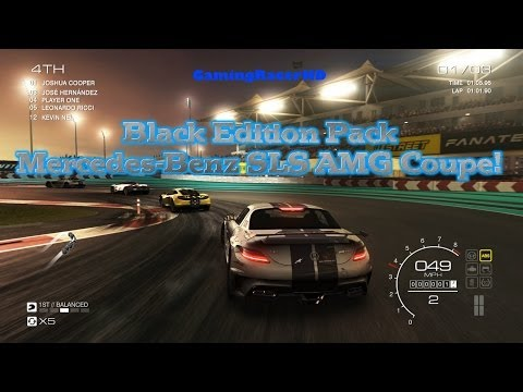 Grid Autosport - Black Edition Pack - Mercedes-Benz SLS AMG Coupe Black Series (1080p HD)