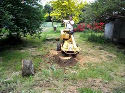 Vermeer Stump Grinder >> 1991 Vermeer 206 Stump Grinder - YouTube
