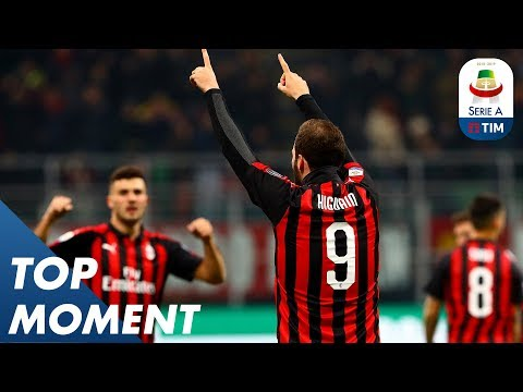 Higuaín Scores Goal For Milan Against Spal | Milan 2-1 Spal | Top Moment | Serie A Mp3