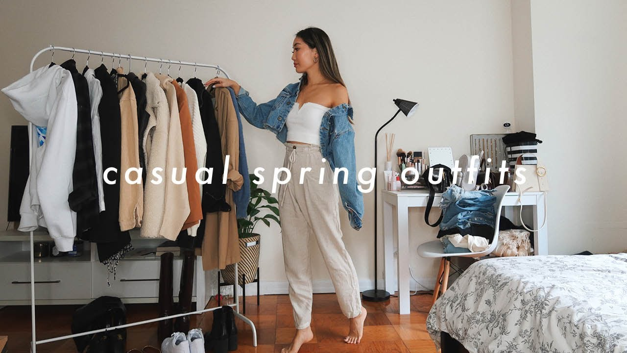 CASUAL SPRING OUTFITS 🌺 spring fashion lookbook 27