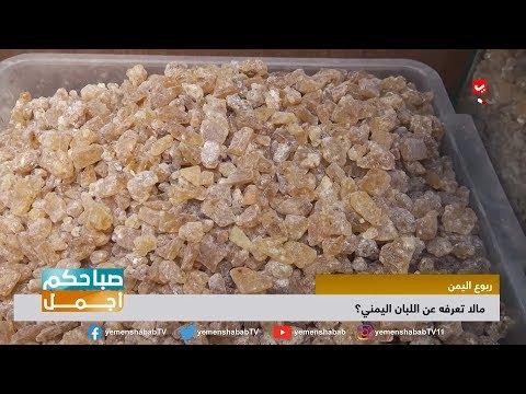 ما لا تعرفه عن اللبان اليمني ...   منتج عريق وفوائد كثيره    صباحكم اجمل
