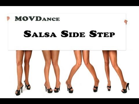 How to Dance Salsa - The Side Step