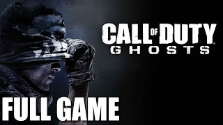 Call of Duty Ghosts - Full Game Walkthrough (No Commentary Longplay)