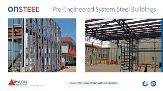 OPALON préfabriqués conteneurs Steel Structure Entrepôt Hangar Atelier ONSTEEL