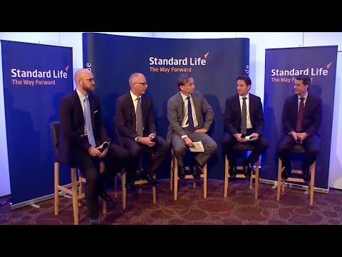 Expertenrunde zum Launch von WeitBlick,  der fondsgebundenen Lebensversicherung von Standard Life