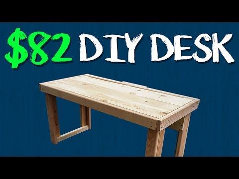 $82 DIY Custom Desk