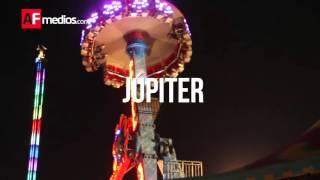 5 juegos mecánicos extremos, en la Feria de Colima