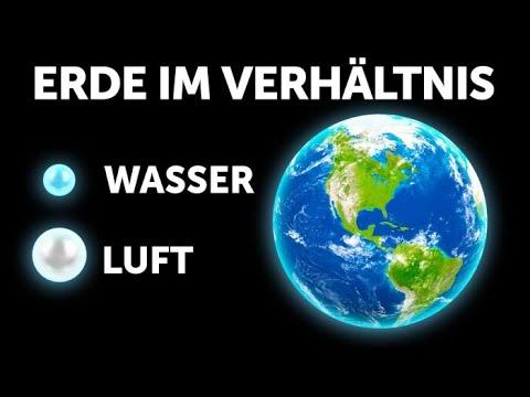 Unglaubliche Fakten über die Erde (und andere Planeten)