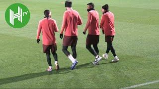 Barcelona v Tottenham   Lionel Messi and Barcelona train ahead of Spurs clash