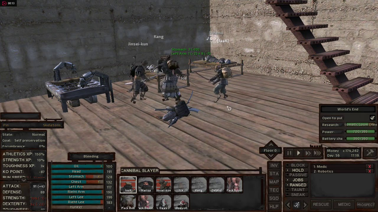 Kenshi 0 99 4 Gameplay on A8-6410 R5 graphics