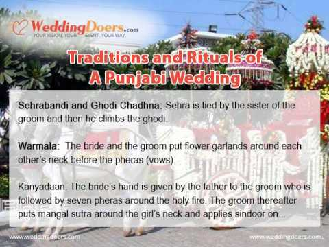 Traditions and Rituals of A Punjabi Wedding
