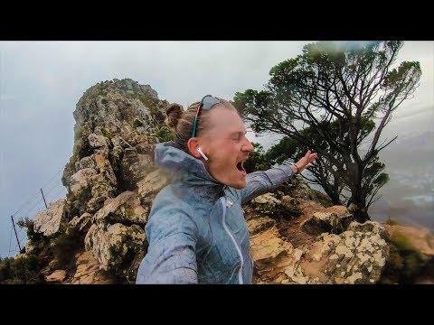 New GoPro rainy hike test!