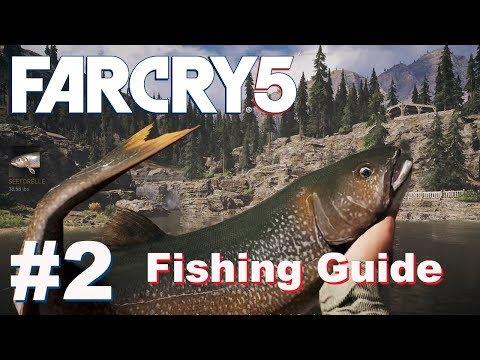 Angel Quest Reihe Mit Skylar / Fishing Guide Inkl. Steinbarsch #2   Far Cry 5   Deutsch   Gameplay