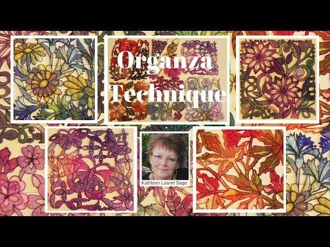 Organza Technique