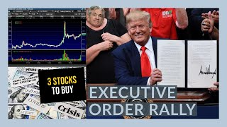 THE STOCK MARKET IS GOING TO GET STIMULUS!! - My Watchlist - 3 Stocks To Buy NOW!