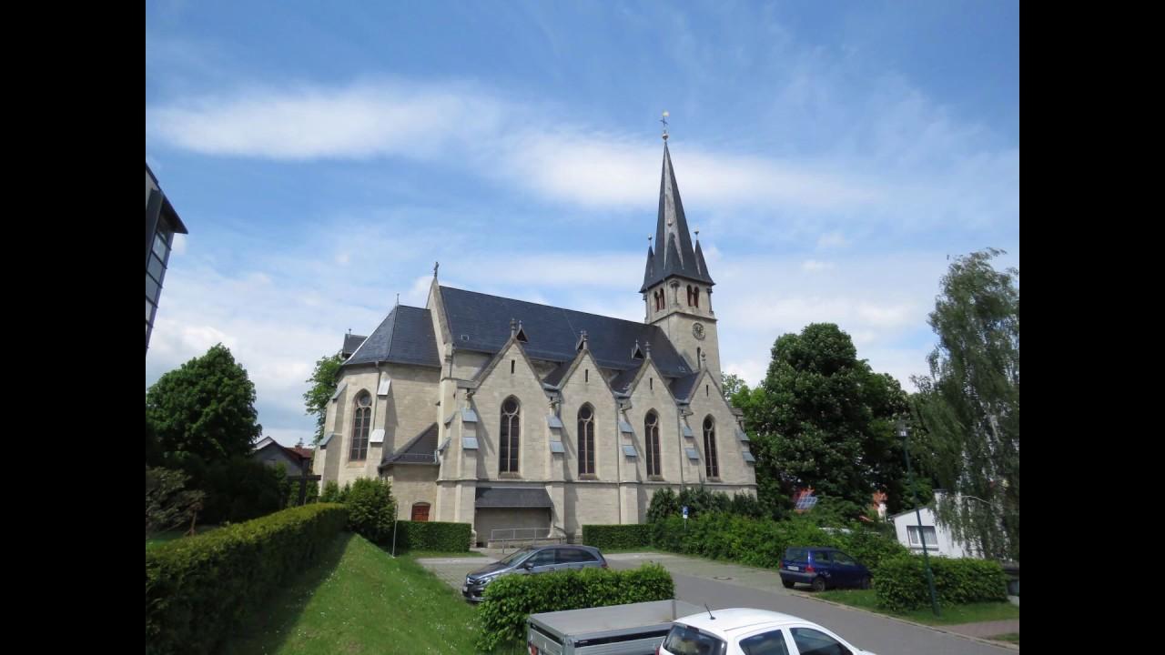 LEINEFELDE-Worbis (D) die Glocken der neuen kath. Kirche
