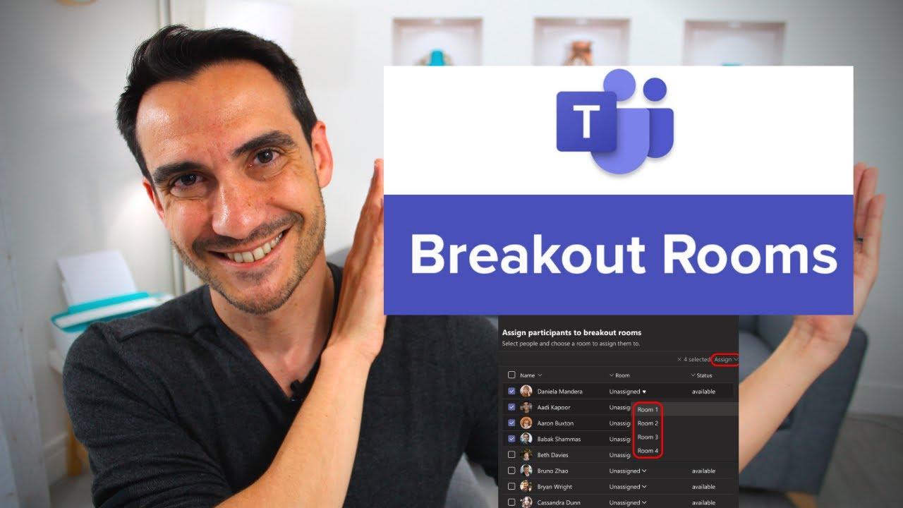 Teams Breakout Rooms petits groupes et toile numérique (enfin!)
