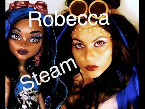 ROBECCA STEAM PUNK MONSTER HIGH MAKEUP PICS HALLOWEEN COSPLAY  sc 1 st  YouTube & ROBECCA STEAM PUNK MONSTER HIGH MAKEUP PICS HALLOWEEN COSPLAY - YouTube