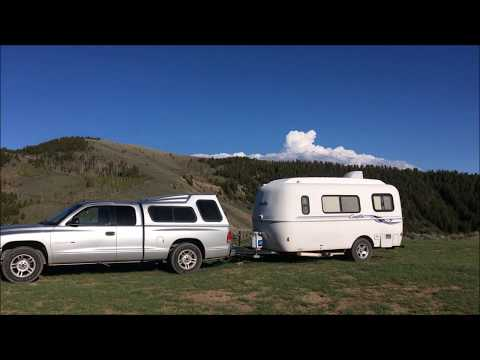 Free Camping in CO and WY, 2017