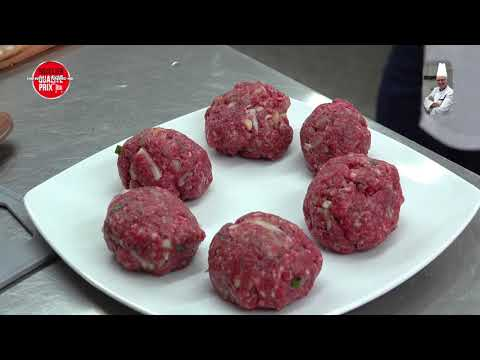 boulettes-de-boeuf-à-la-tomate-et-purée-de-pommes-de-terre