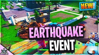*OMG* FORTNITE EARTHQUAKE DESTROYS PLEASANT PARK AND CRACKS ALL OVER MAP FOR SEASON 10