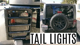 Jeep Wrangler Smoked Out Tail Lights   Install & Review