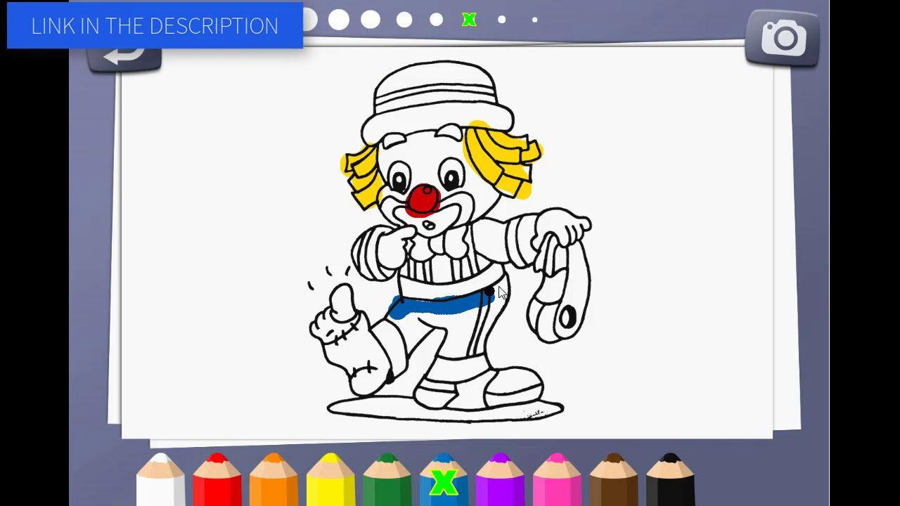 Free Construct2 Template Coloring Book