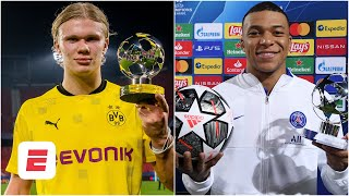 Erling Haaland or Kylian Mbappe: Who wins the Ballon d'Or first? | ESPN FC