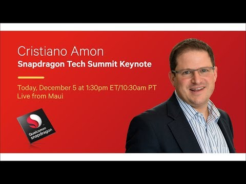 Snapdragon Technology Summit Keynote 2017: Leading the Next Generation of Innovation