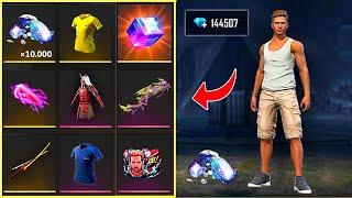 buying diamonds 💎💎 Adam get new skins 🤩 free fire حظ ٱدم في الاحداث الجديدة