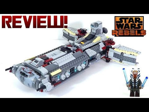 Lego Star Wars Rebels 75158 Review Rebel Combat Frigate