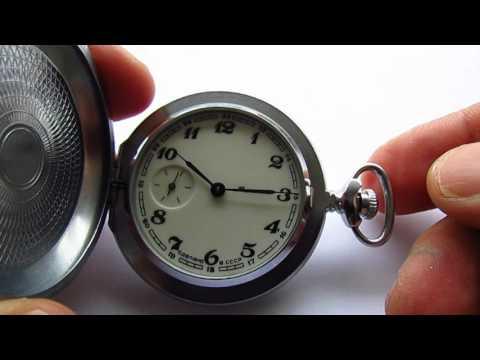 Molnija Pocket Watch Hunter Case