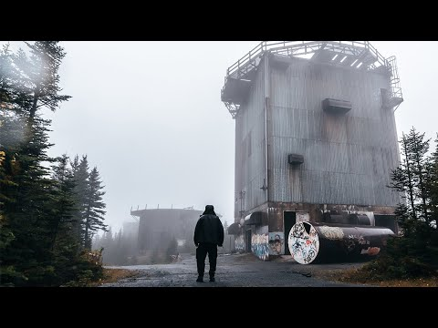 Abandoned Cold War Radar Base Deep In The Middle of Nowhere We Explore Overnight