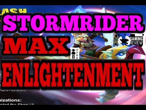 Clash of Lords 2  OVERPOWERED GRIFFON GOD STORM RIDER MAX ENLIGHTENMENT LEVEL 25