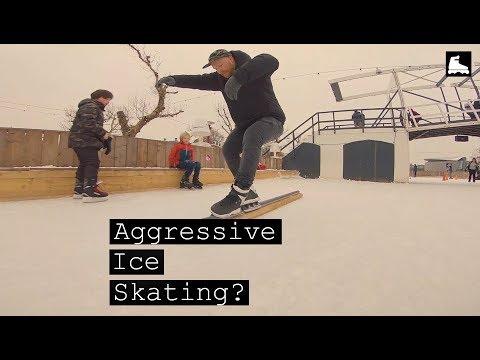 Aggressive Ice Skating?